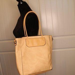 Cute Smooth La Moda Cream Tote Bag